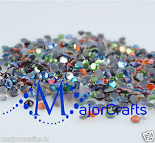 1440pcs Mixed Colours 2mm ss6 Flat Back A+ DMC Glass Hotfix Rhinestones Crystals