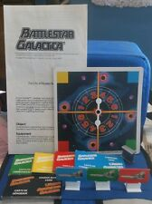 1978 Battlestar Galactica Board Game parts lot spinner cards instructions pawns