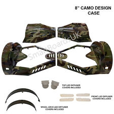"CAMO 8"" Transformer Hover board Plastic Shell Swegway Case 8 Inch **UK**"