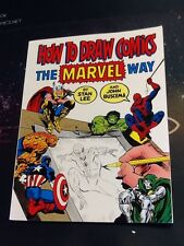 How to Draw Comics the Marvel Way by John Buscema and Stan Lee Paperback (T121