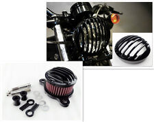 Rough Crafts Headlight Grill+Air Cleaner Harley Davidson Sportster XL 883 04'-UP