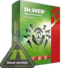 Dr.Web Security Space Rundumschutz Antivirus für Windows, MacOS, Linux, Android
