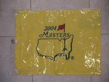 2004 MASTERS GOLF PIN FLAG AUGUSTA NATIONAL PHIL MICKELSON 1st MASTERS PGA NEW