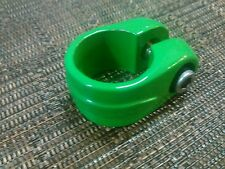 Green seat clamp old school bmx freestyle bike neon nos for GT Skyway haro cw