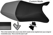 GREY & BLACK CUSTOM FITS HONDA CBR 1100 XX SUPER BLACKBIRD 96-07 LTHR SEAT COVER
