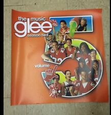 """Glee The Music Season 2 Volume 5 Promotional Poster Approx 24"""" By 24"""" Gleek"""