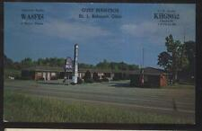 Postcard MORRISTOWN Ohio/OH  Bell Tourist Motel Motor Court view 1970's
