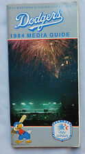 1984 Los Angeles Dodgers -  Media Guide