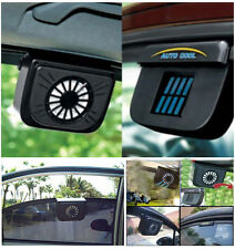 New Car Auto Solar Powered Air Vent Cool Cooler Fan With Rubber Stripping 1Pcs
