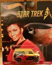 Hot Wheels HW Star Trek 50th Anniversary FORD TRANSIT MK1 UHURA Real Riders 2016