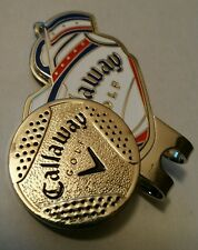 Brand New Red, White, and Blue Callaway Golf Bag Ball marker with hat clip!!