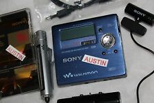 Sony mz R909 minidisc player recorder, sony microphone md