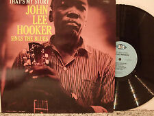 JOHN LEE HOOKER That´s my Story 1960 USA re press LP