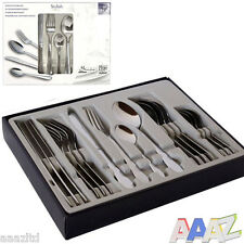 16PC QUALITY CUTLERY SET STAINLESS STEEL TABLEWARE DINING KNIVES AND SPOON FORKS