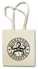 MISKATONIC SHOGGOTS VINTAGE Hipster Shopping Cotton Bag - Arkham Cthulhu HP