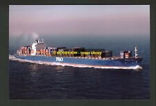 rp00401 - UK Container Ship - Oriental Bay - photo 6x4