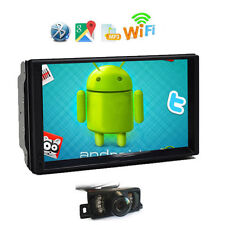 7inch Android 4.4 Double 2 Din InDash Car No DVD Radio Stereo WiFi 3G GPS+Cam
