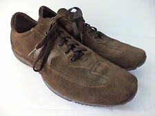 NICOLA BENSON BROWN SUEDE LEATHER OXFORD SHOE MENS EUR 41 US 8M ITALY