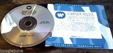 Warner Promo Only UK CD Sampler 1991 RARE Little Village Simply Red Marc Almond