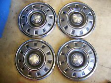 "1968 69 DODGE DART HUBCAPS WHEEL COVERS 14"" (4)"
