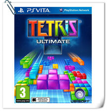 PSV Tetris Ultimate Sony PlayStation VITA Ubisoft Puzzle Games