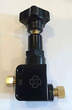 Y841 Billet Aluminum adjustable Brake proportioning valve / hotrod  BLACK