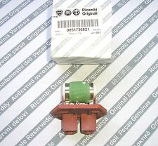 Alfa Romeo 147 1.9 JTD / 3.2 V6 new genuine radiator fan motor resistor 51736821
