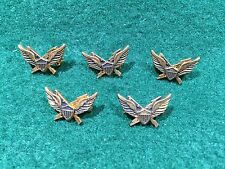 Lot of 5 1970's Vintage Army Air Assault Badge Pins