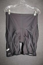 LOUIS GARNEAU womens XL bicycle CYCLING shorts BIKE blue Chamois AIR GEL