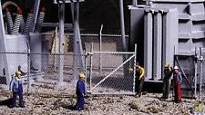Walthers Cornerstone HO, OO gauge Industrial chain link fence (933-3125)