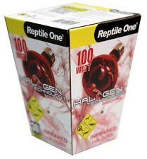 Reptile One R1-46683 Halogen Heat Lamp Infrared 100W E27 Screw Fitting Terrarium