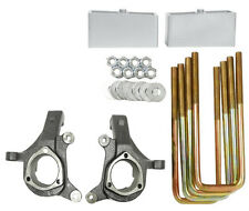 "Silverado Lift Kit 3""/2"" 2007 - 2014 2wd Suspension Spindles Aluminum Blocks"