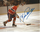 Montreal Canadiens Yvan Cournoyer Signed Autographed 8x10 Photo COA