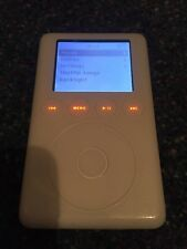 Apple ipod Classic 3rd Generation White 20GB Working ^