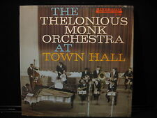 THE THELONIOUS MONK ORCHESTRA AT TOWN HALL RIVERSIDE 12-300-RECORD