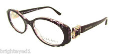 Authentic BVLGARI Violet Eyeglass Rx Frame BV 4054B - 5112 *NEW*  50mm