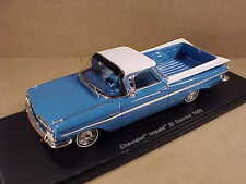 Spark 1/43 Resin 1959 Chevrolet Impala El Camino Pick-up, Blue & White  #S2906