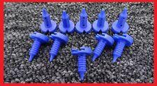 10Pcs bleu ford voitures/vans intérieur porte panneau garniture carte rivets fastener clips