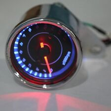 Universal Motorcycle LED Backlight Speedometer Tachometer Tacho Gauge