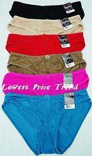 Pack of 6 pcs Lace Front Bikini Panties Lot New LP7246PK Size: L