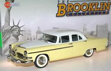 Brooklin BRK 97b, 1955 Dodge Coronet 4-Door Sedan, yellow/white, 1/43
