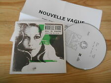 CD Pop Nouvelle Vague - Road To Nowhere (1 Song) Promo PEACEFROG + Presskit