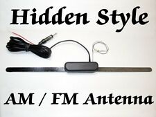 DUNE BUGGY HIDDEN STYLE AM FM AMPLIFYED ANTENNA, BRAND NEW + How Too Install