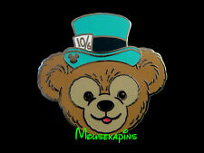 Alice in Wonderland MAD HATTER HAT on DUFFY the BEAR Disney Pin