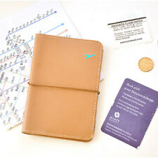 Women Men Travel Passport Holder Leather Cover ID Credit Card Holder Wallet HOT△