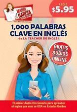 1,000 Palabras Clave en Inglés: Domina el Inglés que más se USA en Estados...