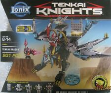 Ionix 13001 Tenkai Knights Tenkai Dragon 201 pieces with 2 minifigures New
