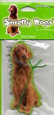 IRISH SETTER DOG FRAGRANT AIR FRESHENER LONG LASTING FOR CAR / HOME