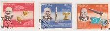 (PAN-93) 1966 Panama 3stamps Churchill & space (not issued)