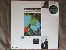 Sealed! SWING OUT SISTER Kaleidoscope World JAPAN Laser Disc LD VAL-3120 Free SH